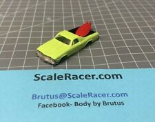Lime '69 Chev El Camino #1429 Body for Aurora Dash AW Tjet type Chassis