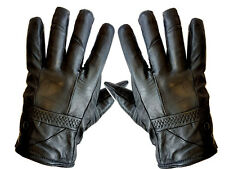 LADIES LEATHER GLOVES THINSULATE SOFT FULLY LINED WINTER WARM OUTDOOR WALKING