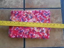 Fabric 5 Yards 32 Inches Marbled Orange Red Pink Yellow Plum Novelty 100% Cotton
