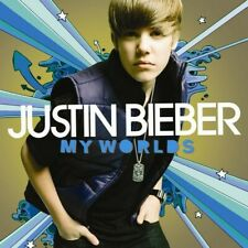 Justin Bieber My Worlds Deluxe Edition CD + DVD - Japan Edition NEW
