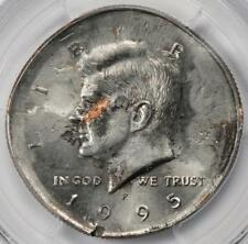 1995 PCGS MS64 Double Struck BS Struck In Copper Kennedy Half Dollar Mint Errors