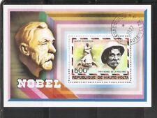 Burkina Faso SC # 445 Nobel Prize Winners. Souvenir Sheet. MNH