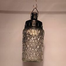 Industrial Vintage JAR HANGING Light Pendant Glass Shade Dome LAMP