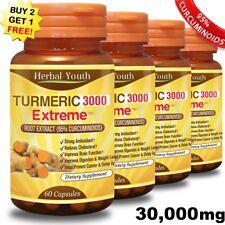 TURMERIC 3000 EXTREME -- 95% CURCUMINOID LONGA LINN TUMERIC CAPSULES ANTIOXIDANT
