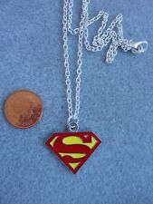 "Logotipo de Superman Marvel Super Hero Colgante Collar 18"" Regalo De Cumpleaños Presente # 237"