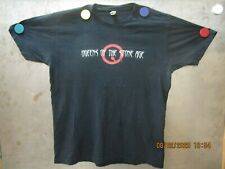 Queens Of The Stone Age Vintage Tour Shirt 2002 Songs For The Deaf Pre-Owned