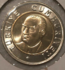 2005 TURKEY 1 YENI LIRA COIN