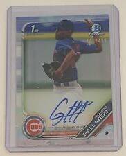 2019 Bowman Chrome Richard Gallardo RC Auto Refractor