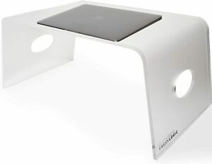 ONLY TODAY! Laptop Stand for Home Office, Acrylic Bed Tray w/Handles