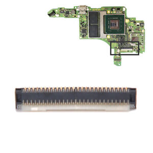 Flex Cable Clip Ribbon Socket Motherboard LCD Display Screen for NS Switc fiF_cd