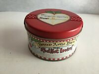 """Pelican Bay Red Hot Lovers Hearts  Empty Tin Can 4"""" Round by 2.25"""""""