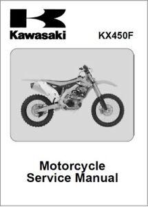 Kawasaki KX450F Motorcycle Service Repair Workshop Manual 2012-2013 (0101)