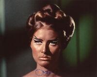 SUSAN HOWARD SIGNED 8x10 PHOTO FIRST FEMALE KLINGON STAR TREK TOS BECKETT BAS