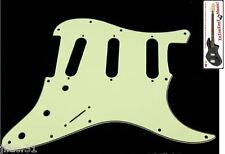 NEW PICKGUARD STRATOCASTER SSS - green - 3 ply pour guitare strat