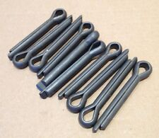 Qty 10  BS1574 Imperial Split Cotter Pins 3/8 inch dia x 2  7/16 inch long.