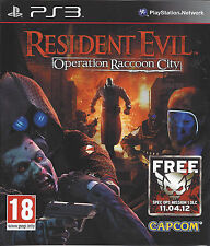 RESIDENT EVIL OPERATION RACCOON CITY for Playstation 3 PS3