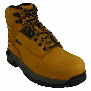 MASTERGRIP 6'' MENS ARIAT LACE UP LEATHER WATERPROOF COMPOSITE TOE SAFETY BOOTS