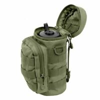 Tactical Water Bottle Pouch Bottle Holder 1L Camping Hiking Climbing Bag Molle