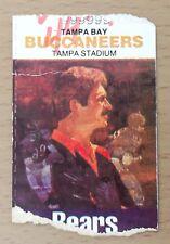 1984 CHICAGO BEARS VS TAMPA BAY TICKET STUB WALTER PAYTON JIM MCMAHON SUPER BOWL