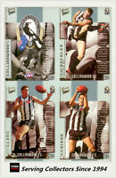 2004 Select AFL Conquest Trading Card  Base Card Team Set Collingwood (13)