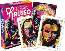 DEAN RUSSO - POP CULTURE ART - PLAYING CARD DECK - 52 CARDS NEW - 52517