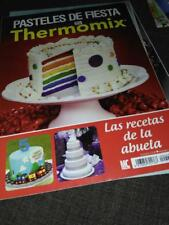 3 X Revistas Thermomix en castellano ,perfecto estado