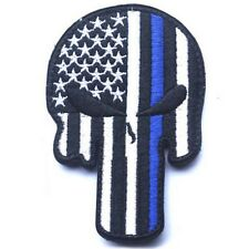 PUNISHER SKULL FLAG USA FLAG ARMY TACTICAL PATCH MORALE BADGE PATCHES