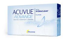 Acuvue Advance mit HYDRACLEAR 6er Box BC 8.3 / 8.7  !!MHD!!