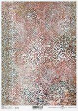 Reispapier-Motiv Strohseide-Decoupage-Serviettentechnik-Vintage-19052