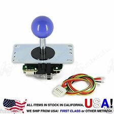 Sanwa Original Japan Arcade Joystick JLF-TP-8YT with Dark Blue Ball Top stick