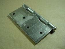 1 Paar BSW Türscharniere 127 mm  matt vernickelt, Art. 805 ND Türbänder.