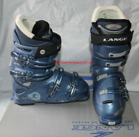 women's Ski boots Lange VEN S 50  size mondo 23.5 , US 6 women light cobalt NEW