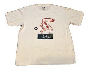 FUTURA Laboratories x Uniqlo Urban Walls T-Shirt Sz Large FL Futura 2000