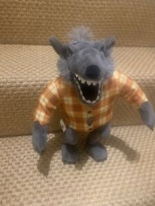 """DISNEY STORE THE NIGHTMARE BEFORE CHRISTMAS WOLFMAN 12"""" PLUSH PRE LOVED"""