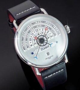 STAUER Aristarchus Hemicycle Wristwatch - NEW!!!