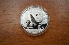 China Panda 2016 Silber Silver 10 Yuan 30g ca 1 OZ .999