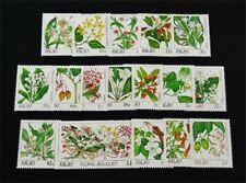 nystamps British Palau Stamp # 126-142 Mint Og Nh $40 J15y3206