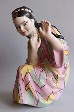 USSR Russian Soviet porcelain figurine Kiev Uzbek girl