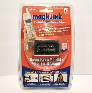 Magic Jack USB Phone Jack Phone System As Seen On TV NEW FREE SHIP
