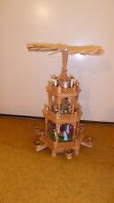 Weihnachtspyramide Holzpyramdie Pyramide 3 stöckig Erzgebirge 45 cm gebraucht