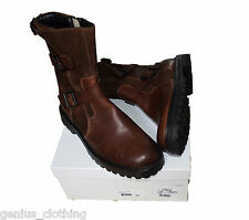 Belstaff Bowmore Biker Leather Suede Boot, UK8, BNIB, RRP £450, Made in Italy