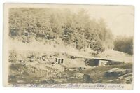RPPC Scene in Gap LOGANTON PA Clinton County Pennsylvania Real Photo Postcard