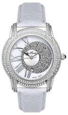 Joe Rodeo Women's JBLY2 Beverly 1.35ct Diamond Leather Strap Quartz Watch