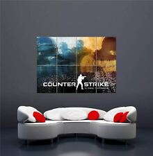 Xbox One ps3 ps4 PC Game Counterstrike 2 New Giant Wall Art Print póster oz1178