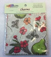 "Fabric Palette - Charm Packet 20 Pieces 5"" X 5"" 100% Cotton -  Mellow Charm Pack"