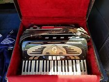 1960 accordion made in New York antique $650