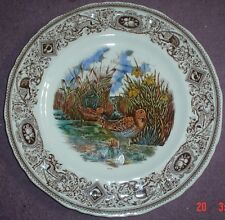 Masons Large Cabinet Plate THE SNIPE