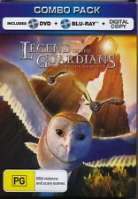 Legend of the Guardians - The Owls of GAÂ'HOOLE dvd + blu-ray
