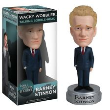 FUNKO BARNEY STINSON HOW I MET YOUR MOTHER TALKING WACKY WOBBLER BOBBLEHEAD