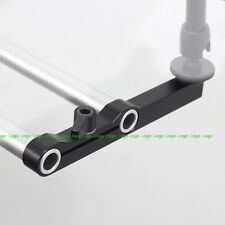 Straight Rail Block Rod Clamp fr 15mm Rod Support DSLR Rig EVF LCD Monitor Arm